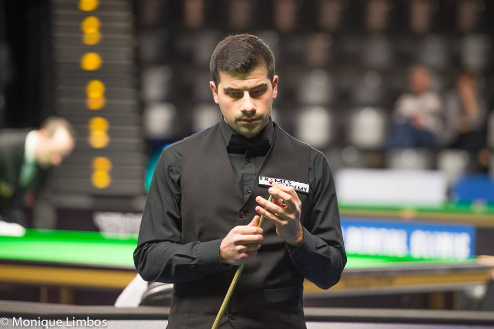 Michael Georgiou, German Masters 2015