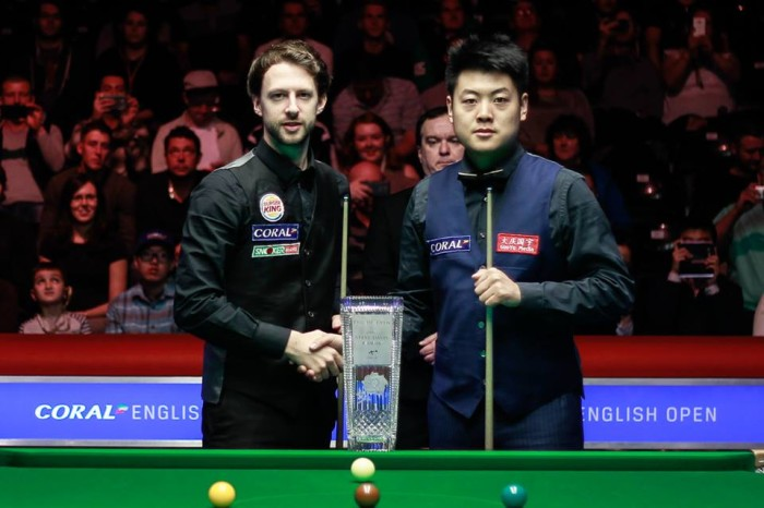 Liang Trump English Open 2016