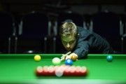Lukas Kleckers beim Paul Hunter Classic 2014