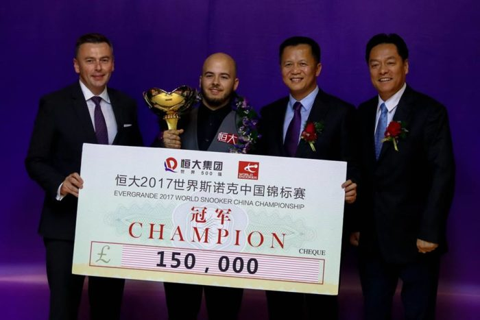 Luca Brecel, China Championship 2017