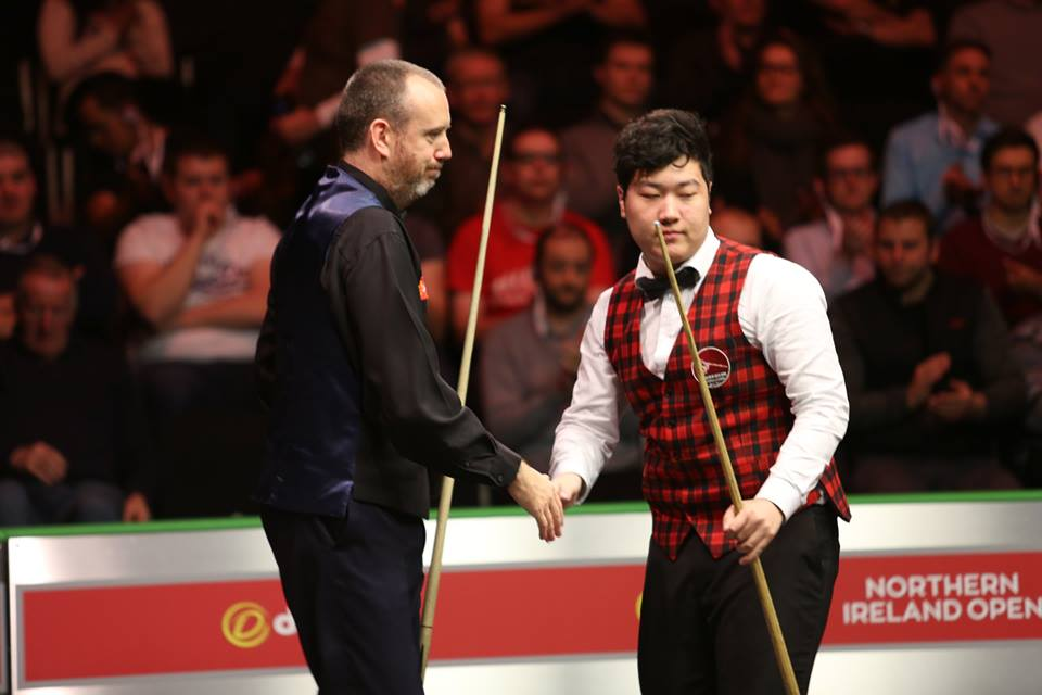 Yan Bingtao, Mark Williams Northern Ireland Open 2017