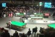 Mark Davis, Alan McManus German Masters 2018