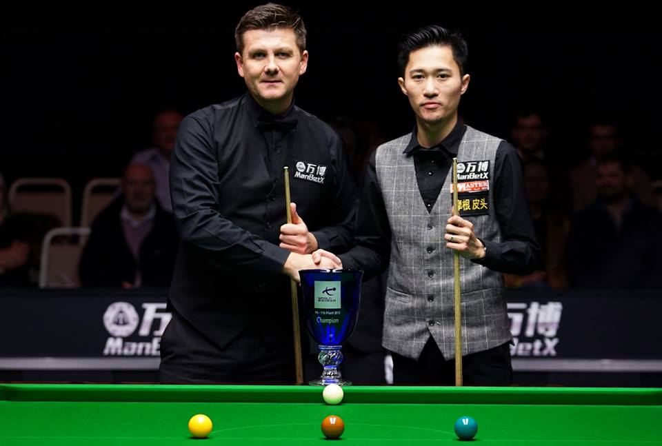Ryan Day, Cao Yupeng, Gibraltar Open 2018