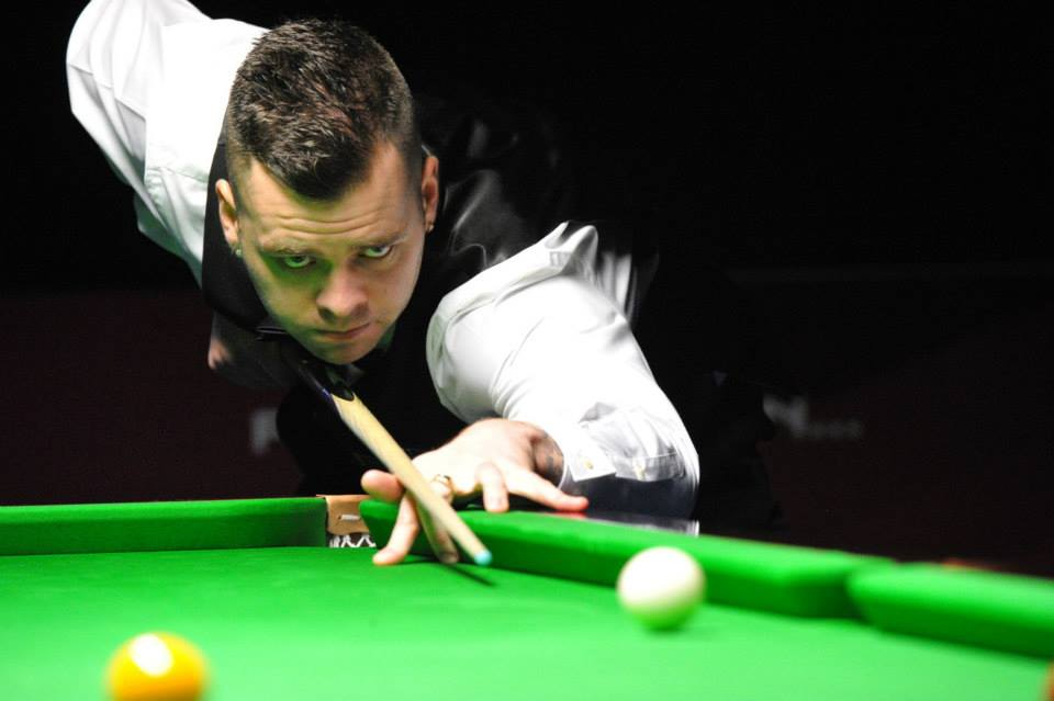 Jimmy Robertson, European Masters Champion 2018