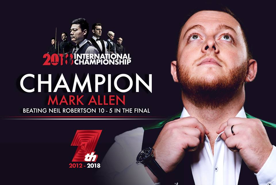 Mark Allen, International Championship 2018