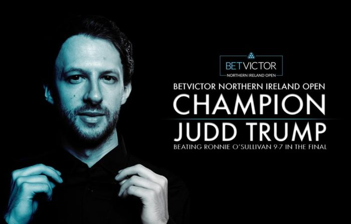 Judd Trump Northern Ireland Open 2018