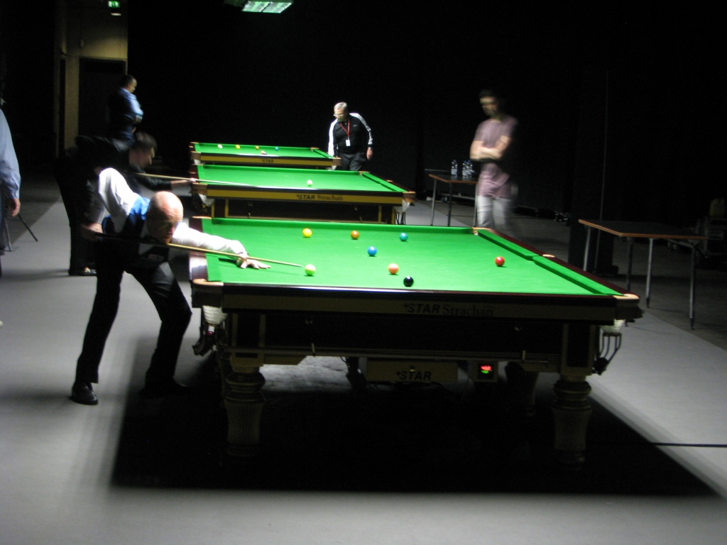 German Masters Backstage