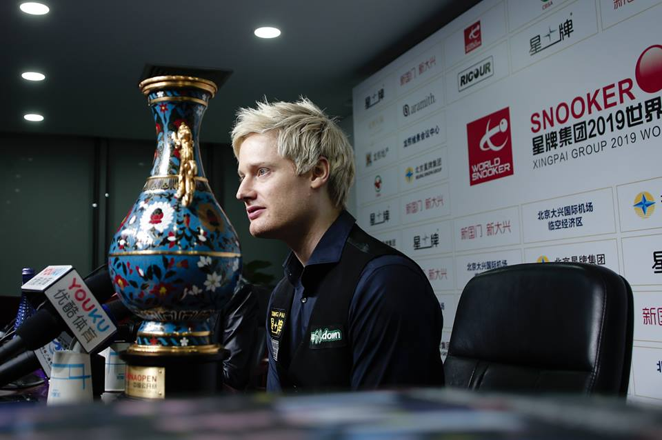 Neil Robertson WM-Qualifikation