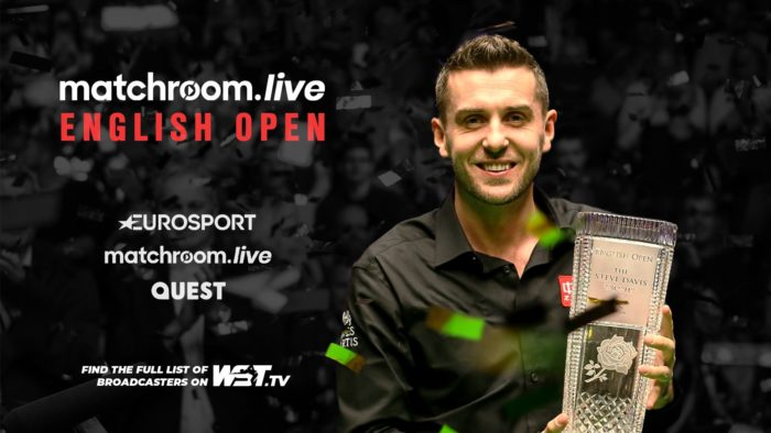 Home Nations Auftakt English Open mit Titelverteidiger Mark Selby
