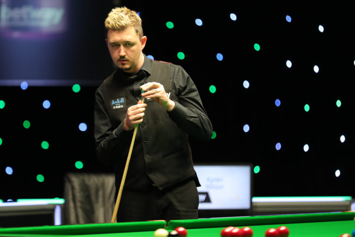 Maximum: Kyren Wilson gelingt ein perfektes Break.