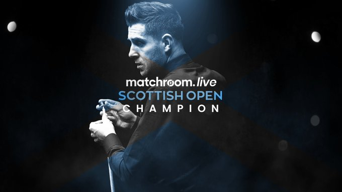 Mark Selby: matchroom-live Scottish Open Champion.