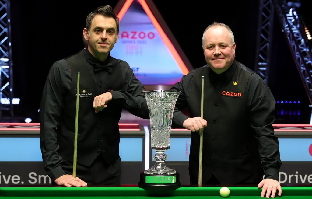 the best snooker player: Ronnie O'Sullivan or John Higgins